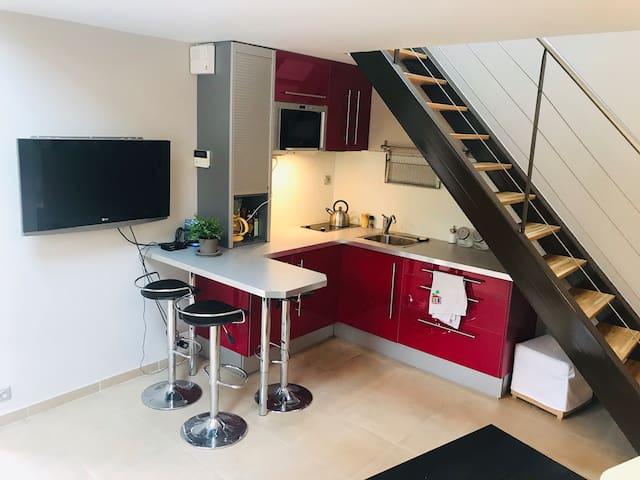 Maisonnette meublée indépendante