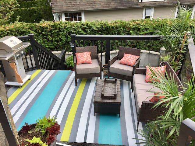 Common patio area