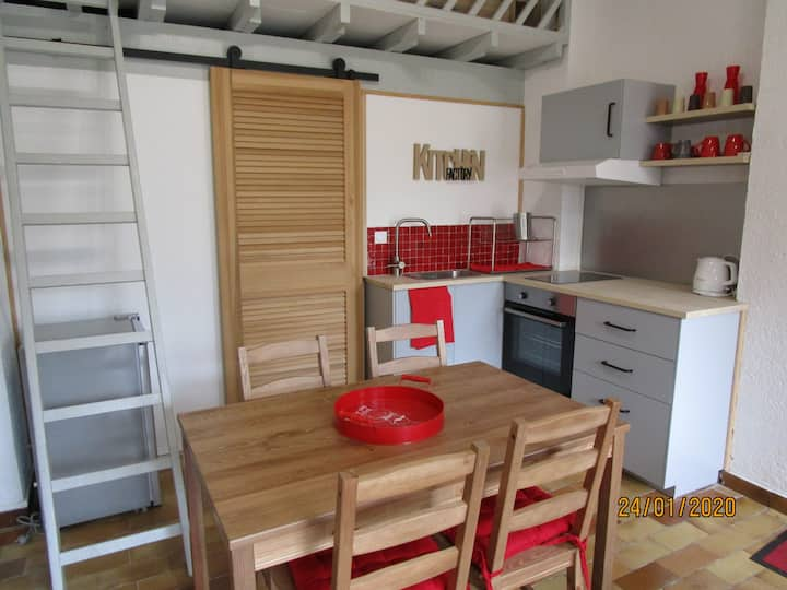 Superbe Studio proche de Montpellier et des plages