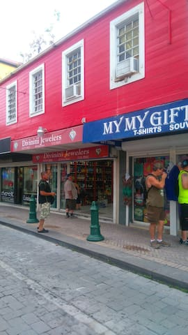 My my gift shop low prices for souvenirs and St.maarten clothes.