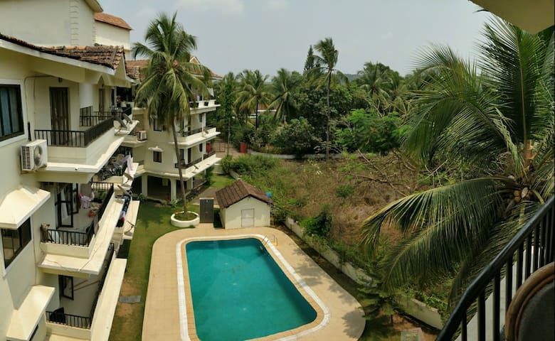Pool & forest view Luxury 2BHK condo with terraces