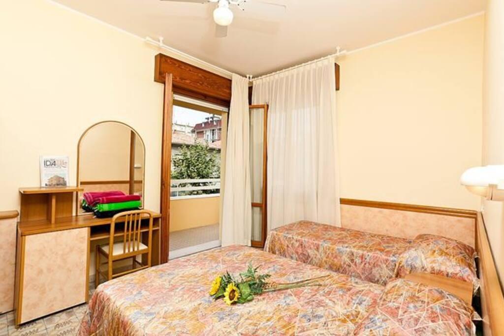 Appartamento posizione ottima vicino alla fiera appartamenti in affitto a rimini emilia - Posizione letto rispetto alla porta ...
