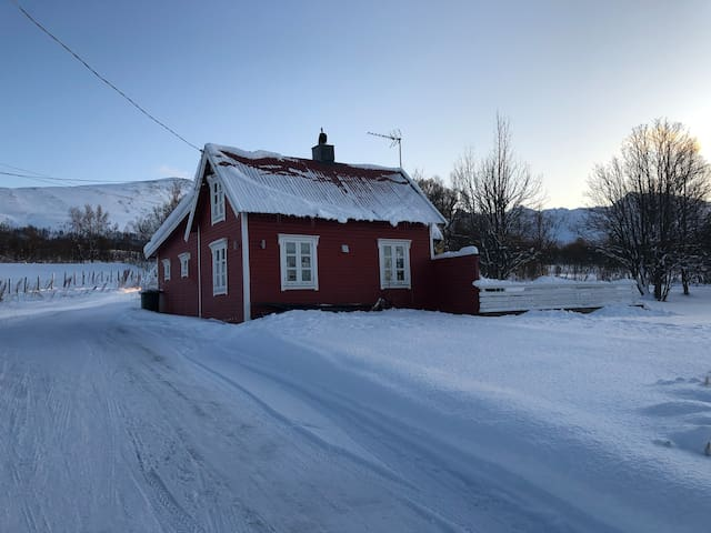 Lyngen Alps guesthouse. Follow on Insta;conmyr
