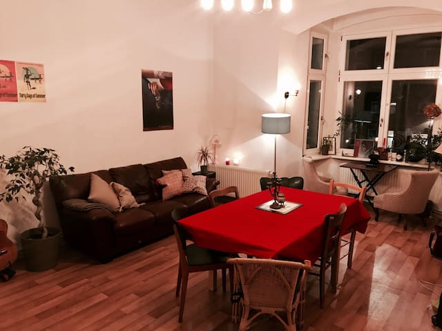 HUGE, SEXY & SUPER CENTRAL ROOM IN 110M² APARTMENT