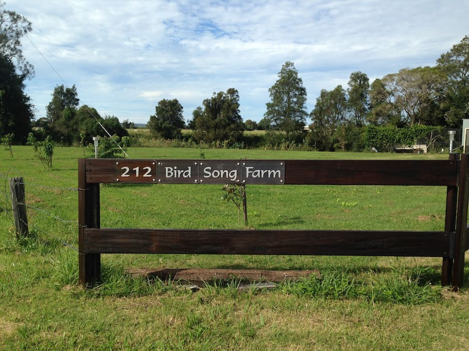 Welcome to Bird Song Farm