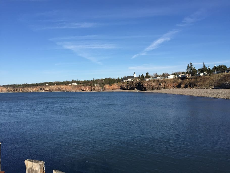The Bay of Fundy at your door