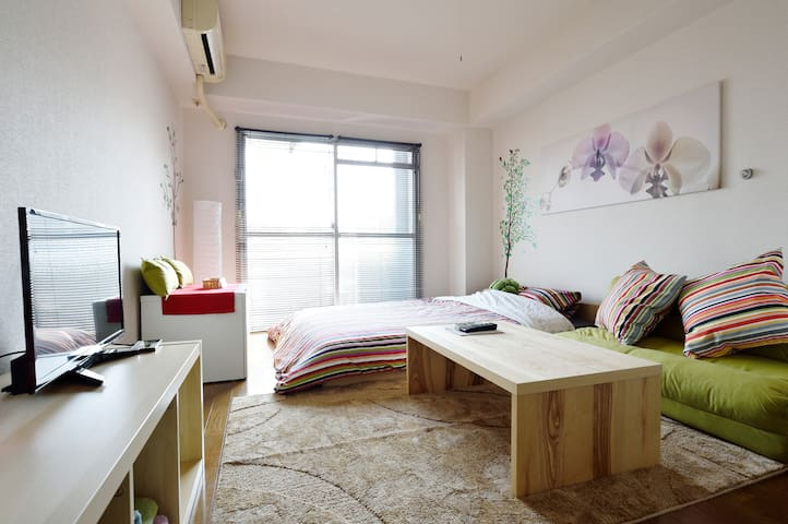 Osaka Downtown Studio 7A - Ōsaka-shi - Apartment