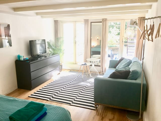 Cozy room in museumdistrict - Amsterdam - House