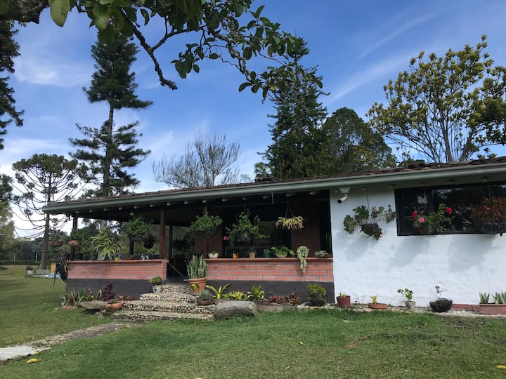 family country house in rionegro