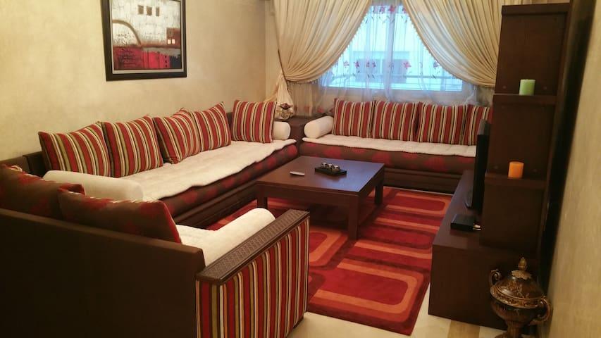 Luxury Furnished Apartment in the center of Rabat - Rabat - Apartamento