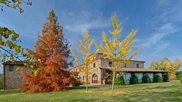 Il Selvino-Bilocale con Piscina in Toscana