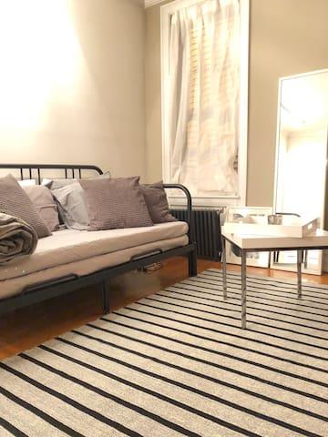 West Village suite living studio