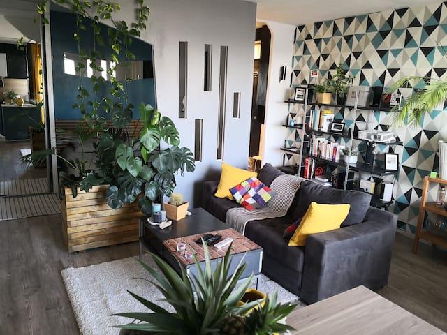 Bordeaux, Appartement cosy et végétal 41m2