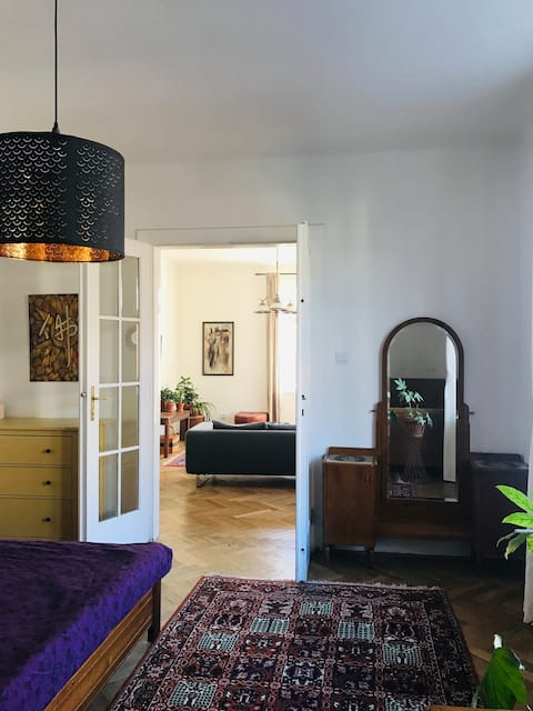 SPACIOUS APARTMENT WITH VIEW IN OLOMOUC CENTER