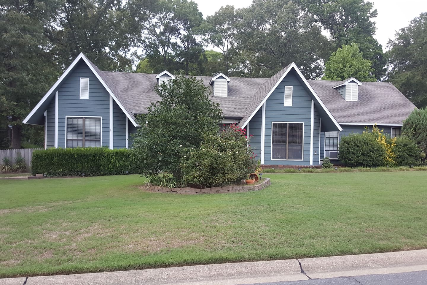 2200 square feet, walking distance to park with track and tennis courts.  20 minutes from Little Rock