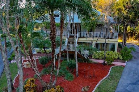 Botanical Garden Duplex on Pristine 2.5 Acres - Fort Myers - Entire Floor