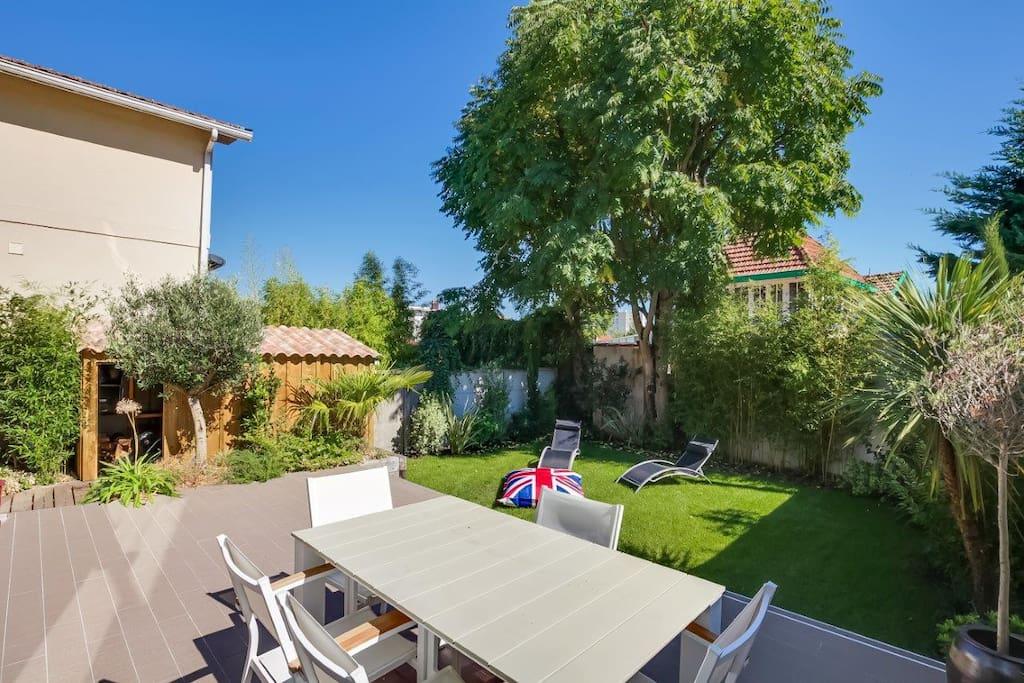 Terrasse, jardin, BBQ..