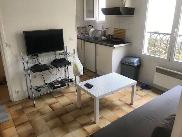 Appartement 2 chambres 20 minutes to Paris