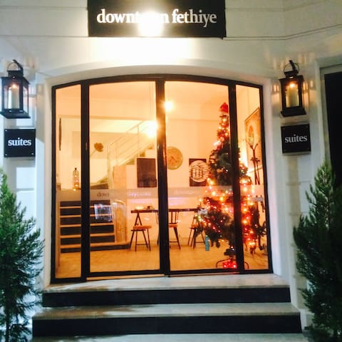 Downtown Fethiye Suites with Old Town View