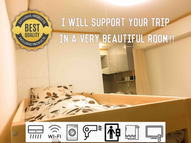 SHINJUKU Great located Private Mansion [Free WiFi]
