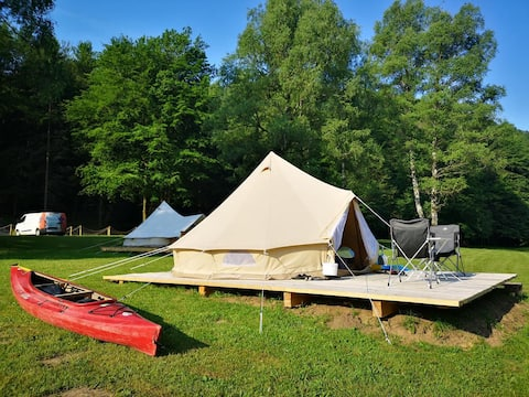 ✿NEW Bell Tent   ECO River Camp