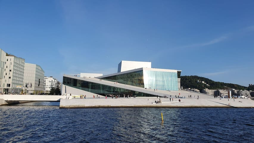 Brand new apartment behind the Oslo Opera House