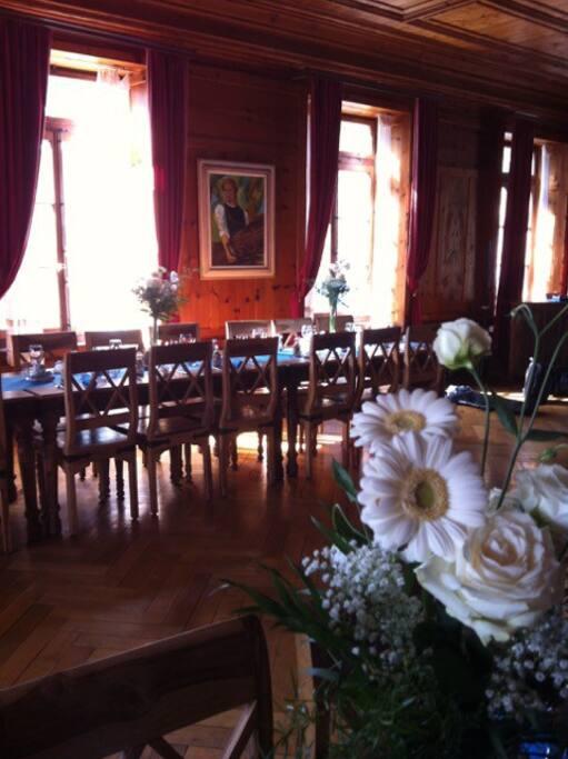 Salle à manger historique.