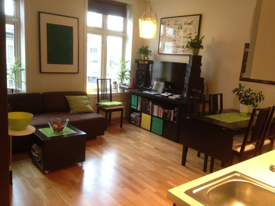 Modern cozy flat in the trendy part of town apartments for rent in oslo - Matelas dunlopillo trendy room 24 ...