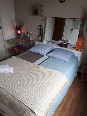 Chambre dans maison calme avec jardin proche ville - Limoges - Talo