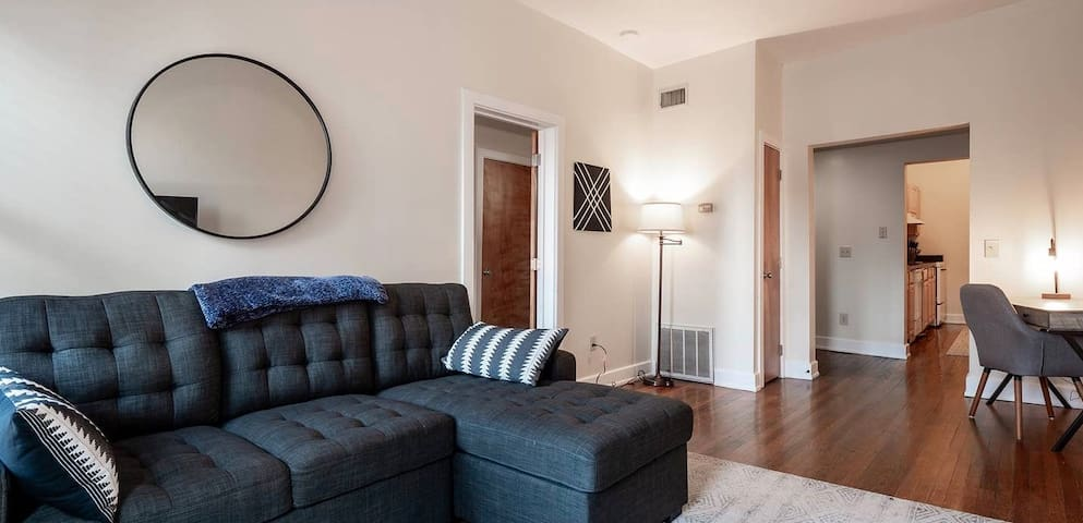 Minutes From Convention Center + City Center Loft