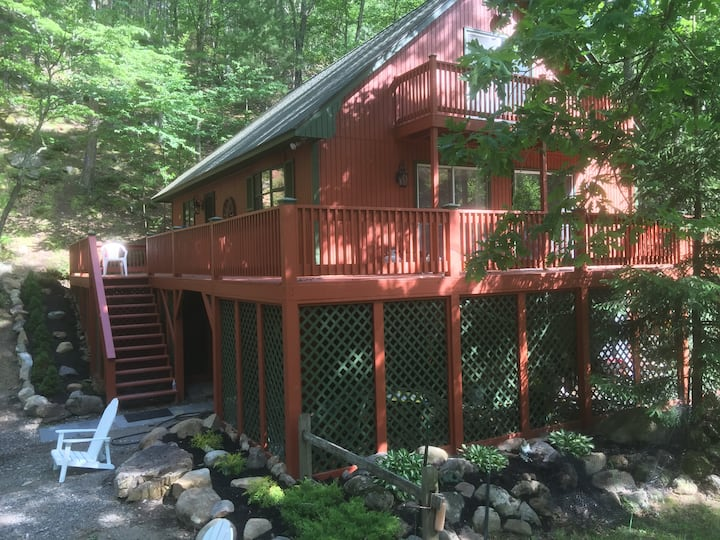 Mountain Home, 2 Hrs Wash DC, 34 Acre Privacy/Hike