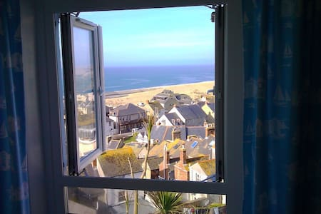 Stunning Sea Views, Portland Cottage, Roof Terrace - Dorset - Hus