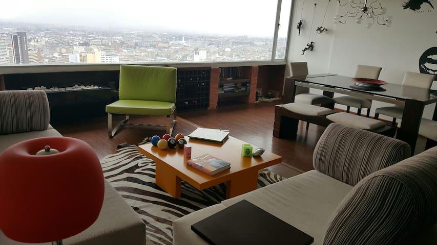 Habitación en el centro de Bogotà - Bogotá - อพาร์ทเมนท์