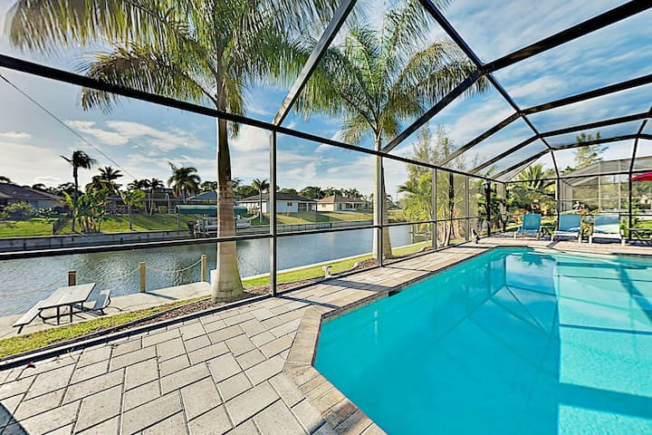 Canal-Front Getaway | Boat Dock & Heated Pool