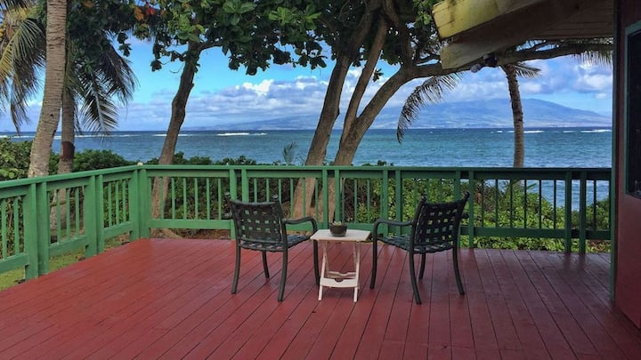 Beautiful Large Beachfront Home on Molokai - Right on the Beach!