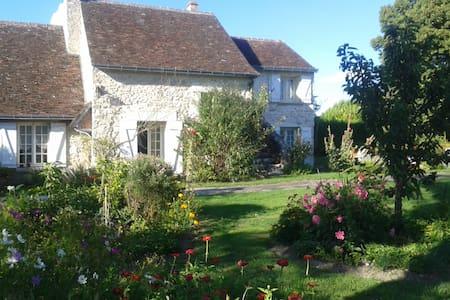 Longère tourangelle avec jardin - Truyes - Casa