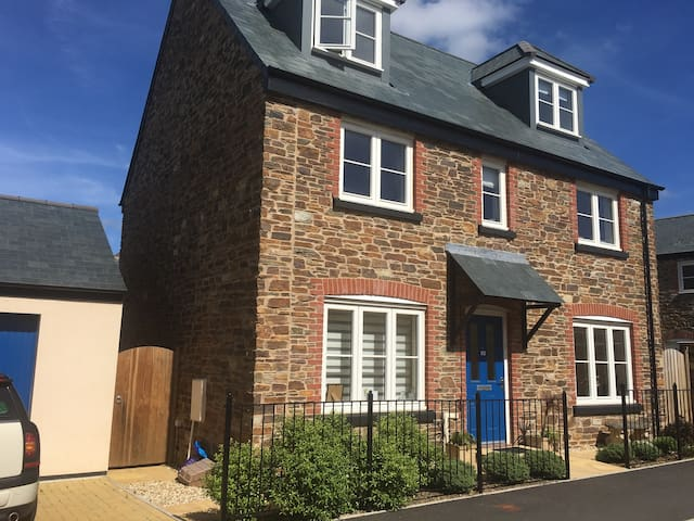 Luxury 4BR in typical Devon village - Yealmpton - House