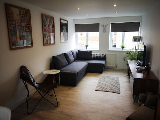 Perfect Bristol apartment with free breakfast