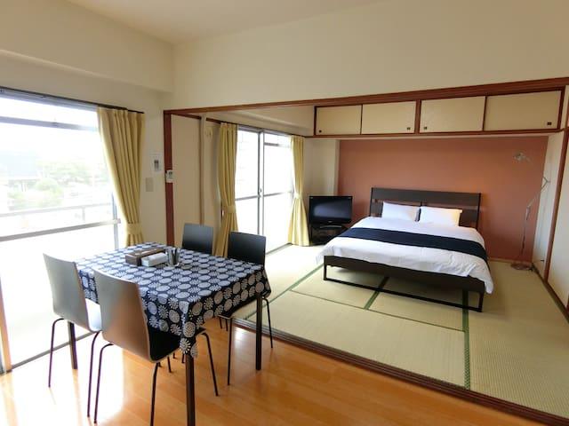 Main Bed Room with Tatami Mats