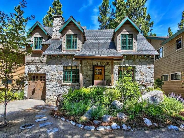 Historic Tahoe Cabin Modernized Room tax included