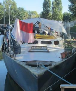 cabine lit double - Ramonville-Saint-Agne - Hajó