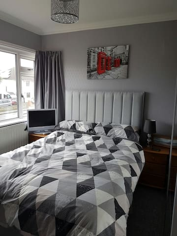 Seaside Double Room - Porthcawl - Huis