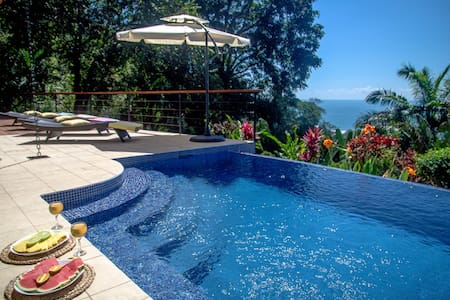 4 Bedroom Villa, Walk to beach, Infinity Pool! - Dominical - House