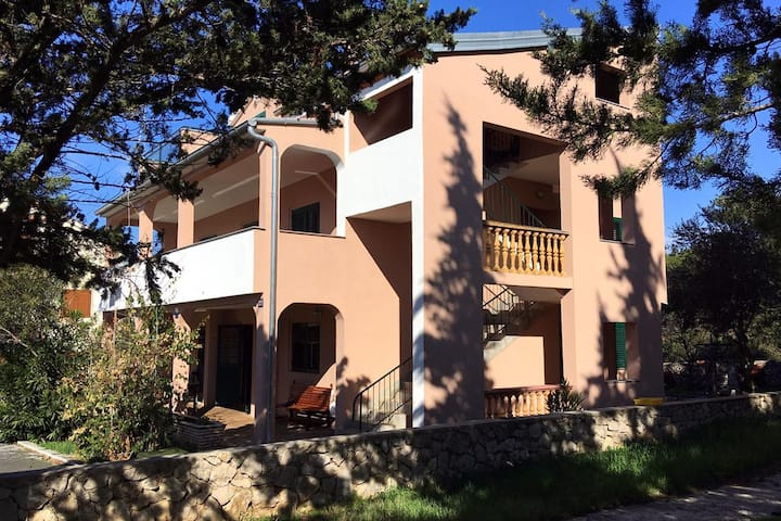 One bedroom apartment with terrace Biograd na Moru, Biograd (A-368-b)