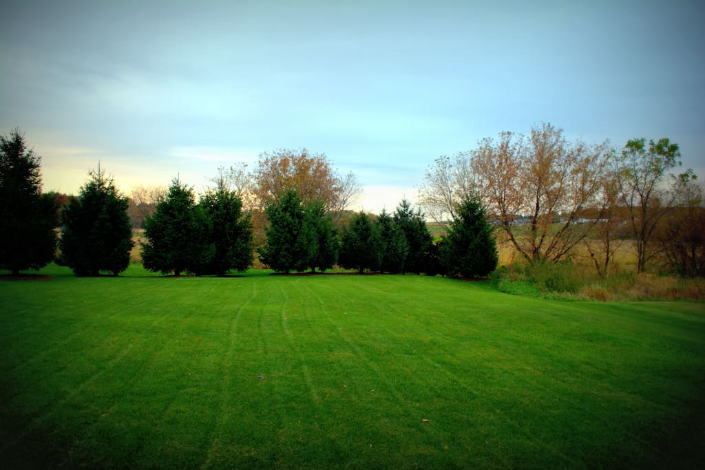 Country view, 1.25 acre lot