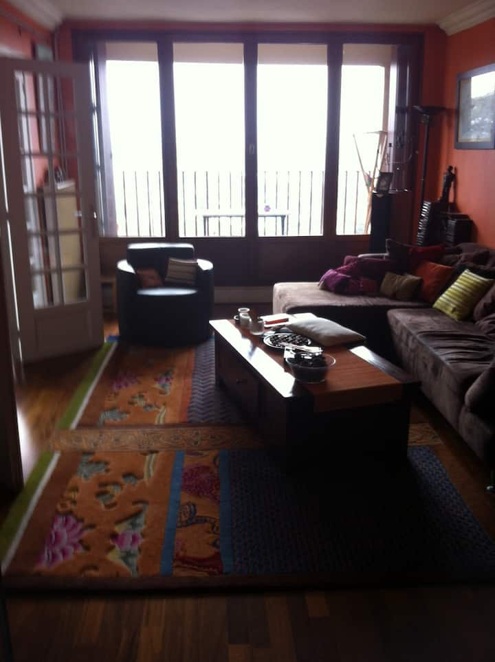 110sqm,panoramic view 30mn Paris