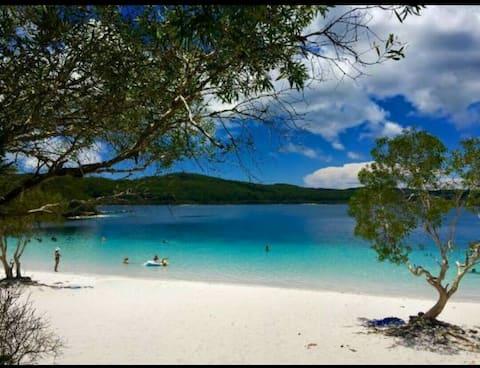 💥Kingfisherbay Beach Villa Fraser Island