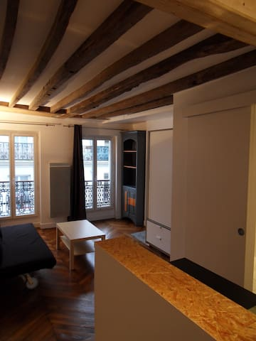 Studio apartment 22m2 in Paris center/Marais