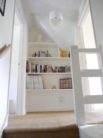 Landing top of stairs