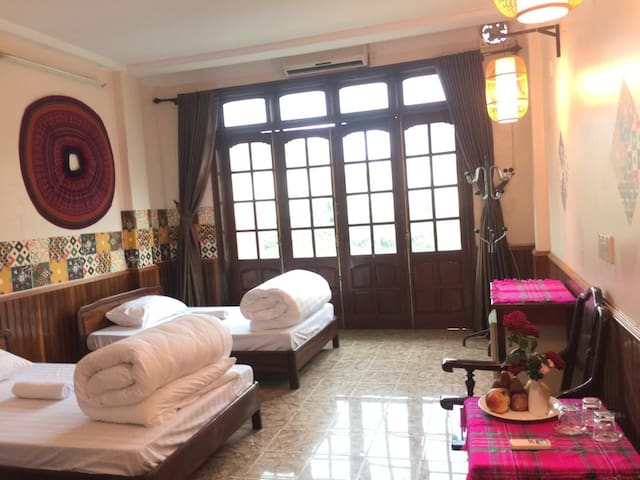 Double room with two bed